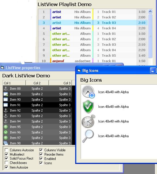 الاداة custom_listview و التى من خلالها تستطيع ادراج ايقونات 32b 994932554
