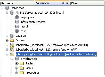 دورة الجافا الرسومية بأستخدام NetBeans ...الدرس(17)_قواعد البيانات (إنشاء قواعد بيانات MySQL من خلال NetBeans)! 195103429