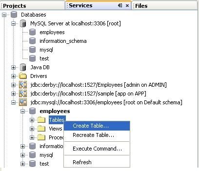 دورة الجافا الرسومية بأستخدام NetBeans ...الدرس(17)_قواعد البيانات (إنشاء قواعد بيانات MySQL من خلال NetBeans)! 347764229