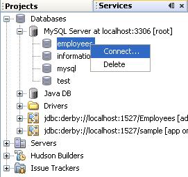 دورة الجافا الرسومية بأستخدام NetBeans ...الدرس(17)_قواعد البيانات (إنشاء قواعد بيانات MySQL من خلال NetBeans)! 688361136