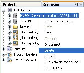 دورة الجافا الرسومية بأستخدام NetBeans ...الدرس(17)_قواعد البيانات (إنشاء قواعد بيانات MySQL من خلال NetBeans)! 645184116