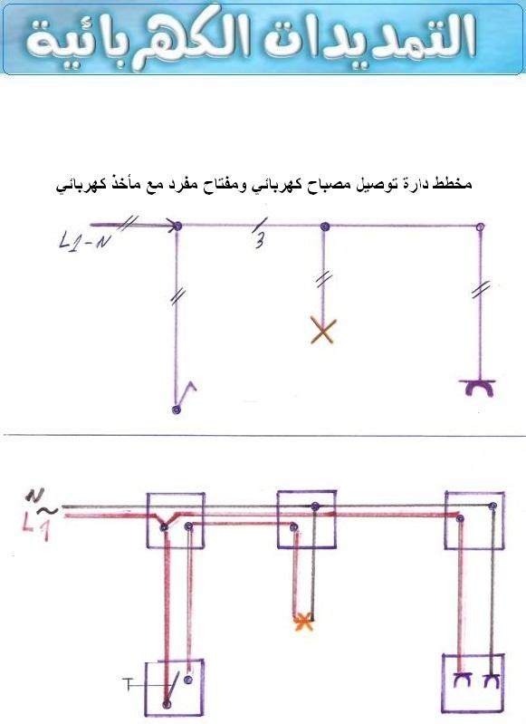 بعض ما يجب تعلمه عن الرموز الكهربائية والمصطلحات ووصفها لكي تعينك على قراءة المخطط الكهربائي 250464257