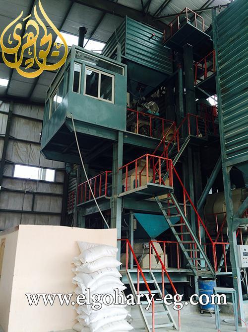 مصنع علف 20 طن /ساعة 880779359