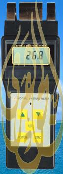 جهاز قياس الرطوبة  فى نشارة الخشب 417890840