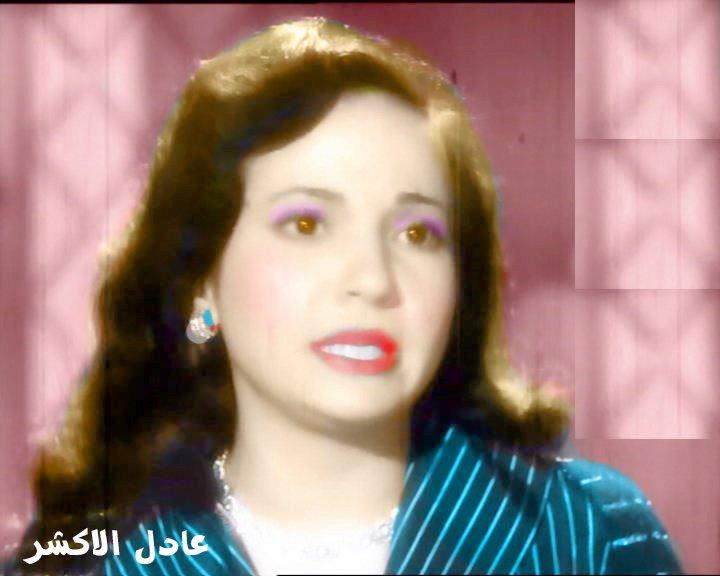 صور الفنانة شادية زمااااااااااان بالوان عادل الاكشر  - صفحة 6 412827657