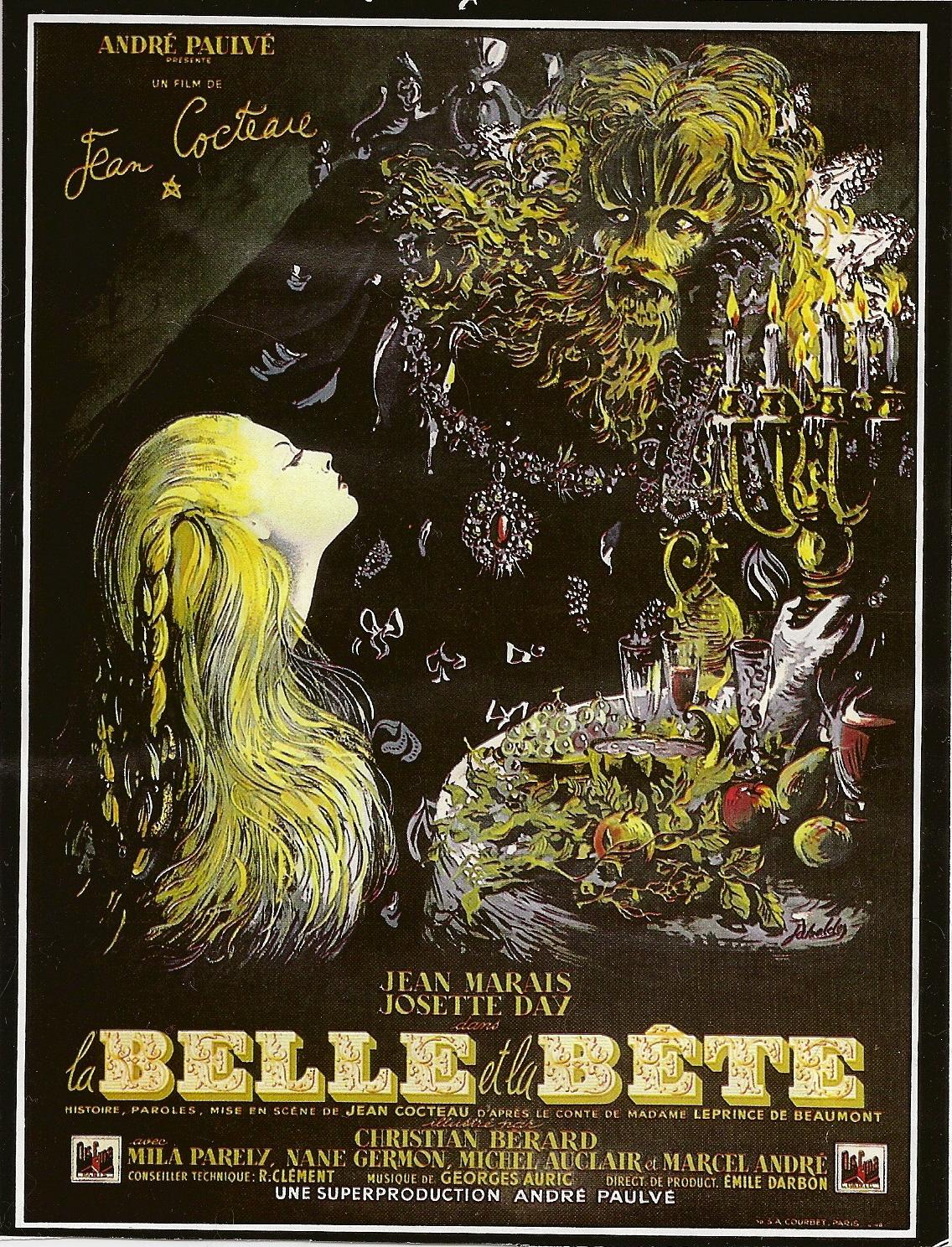 Les plus belles affiches de cinéma - Page 6 Affiche_la_belle_et_la_bete_Cocteau