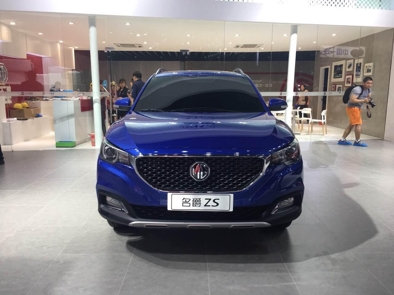 2018 - [SAIC/MG] ZS B-SUV Autohomecar__wKgH6Fgr7oKAUMyHAAVUcoo-bCk11