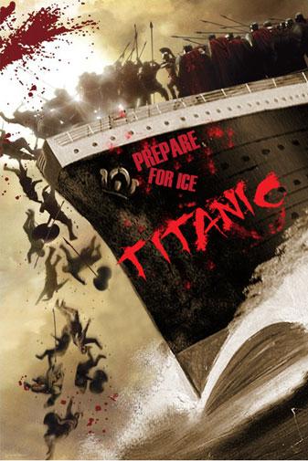 "Challenge ""Movie Mashups"" par B3ta.com 300Titanic"