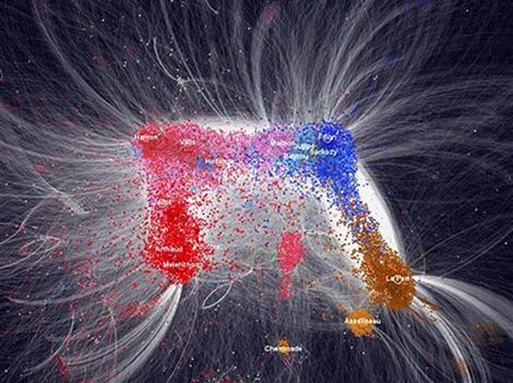Politoscope, l'outil du CNRS qui passe Twitter et la politosphère au macroscope Politoscope1