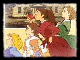 Nos dessins animés d'enfance 4filles