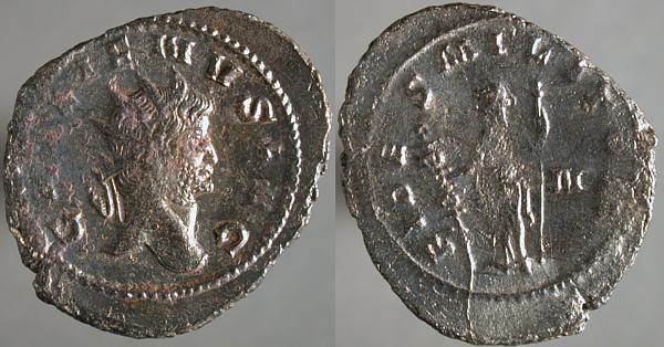 Antoniniano de Galieno. FIDES MILITVM. Roma Erf_ri2352