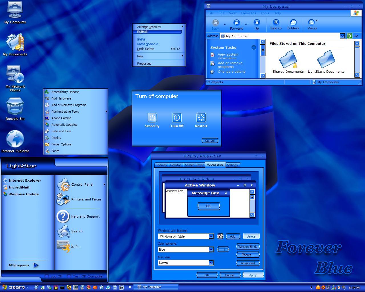 قنبلة المنتدى نسخة windows xp mistermando من تصميمي الخاص بأشكال خرافية برابط واحد مباشر 518010423