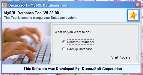 مشروع يوضح كيفية عمل Backup / Restore لقاعدة بيانات MySQL  906154248