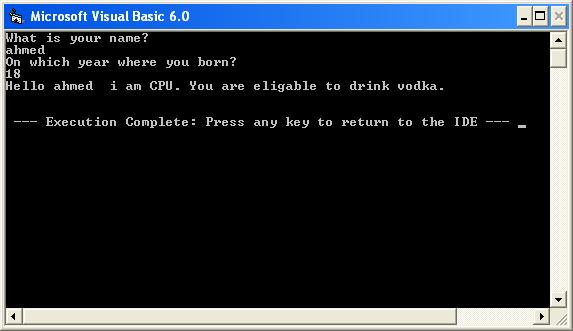 [VB6] إنشاء التطبيقات غير الرسومية Console Application من خلال الفجوال بيسك 6 675799809