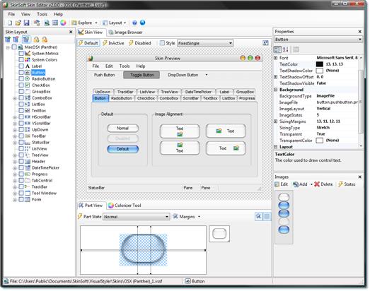 تعلم كيفية إضافة ثيمات لمشروعات C# & VB.NE بإستخدام المكتبة SkinSoft VisualStyler.Net 990169935