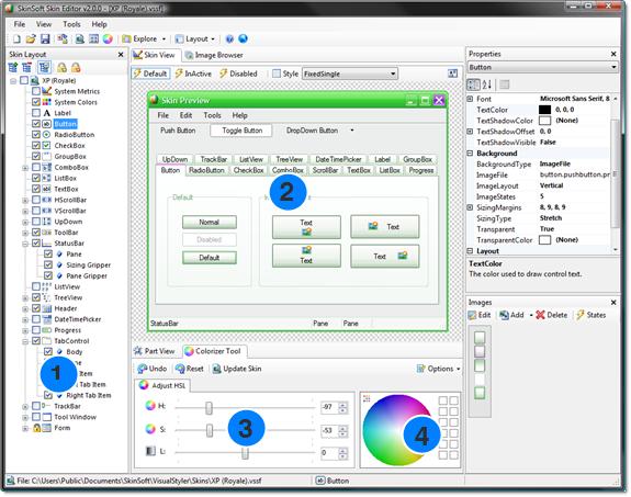 تعلم كيفية إضافة ثيمات لمشروعات C# & VB.NE بإستخدام المكتبة SkinSoft VisualStyler.Net 368992458