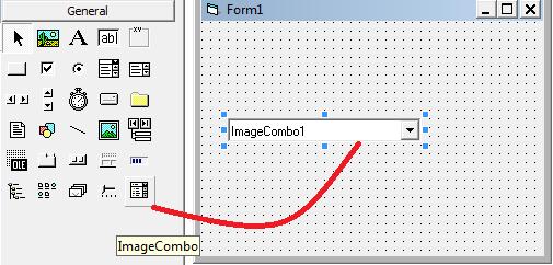 استخدام عنصر التحكم ImageCombo 424262631