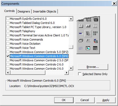 استخدام عنصر التحكم ImageCombo 816467227