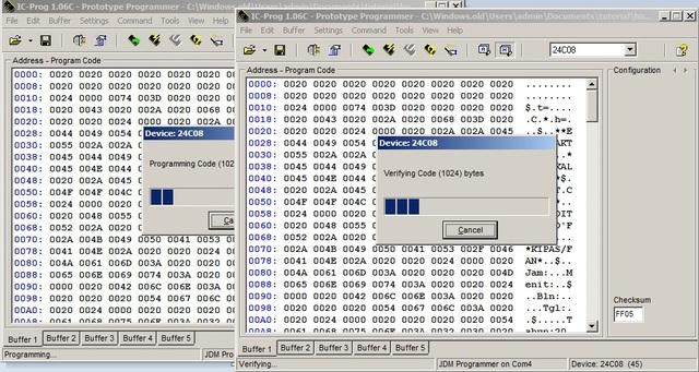 rakitan sendiri downloader ic eprom 24Cxx 11605851