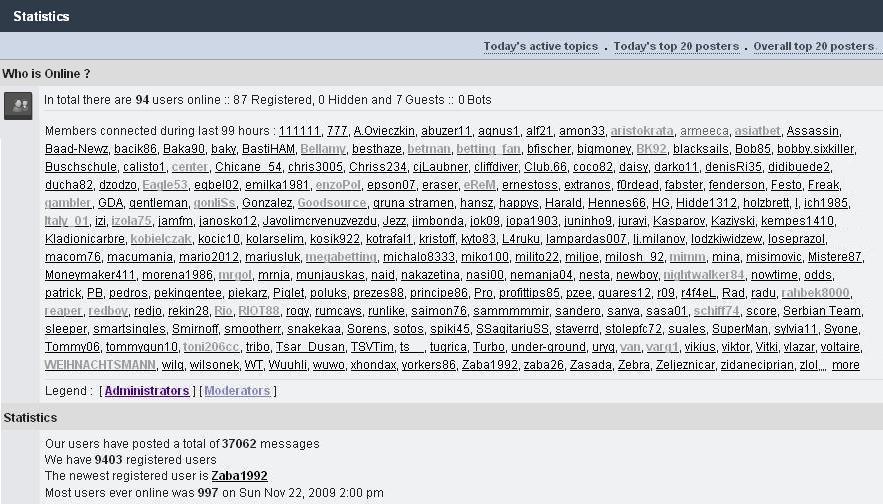 dojave-united VIP TIPOVI I DOJAVE Statistika3