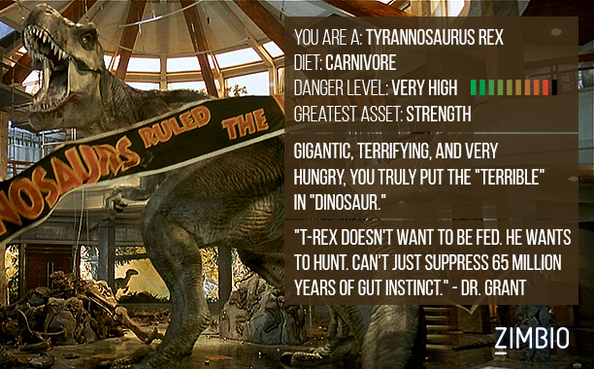 Which 'Jurassic World' Dinosaur Are You? LcFwn9htVx0l