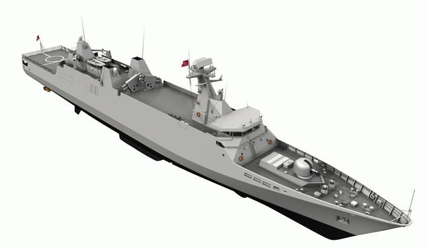 فرقاطة سيغما الثانية للبحرية المغربية تخرج للتجارب البحرية 579249114