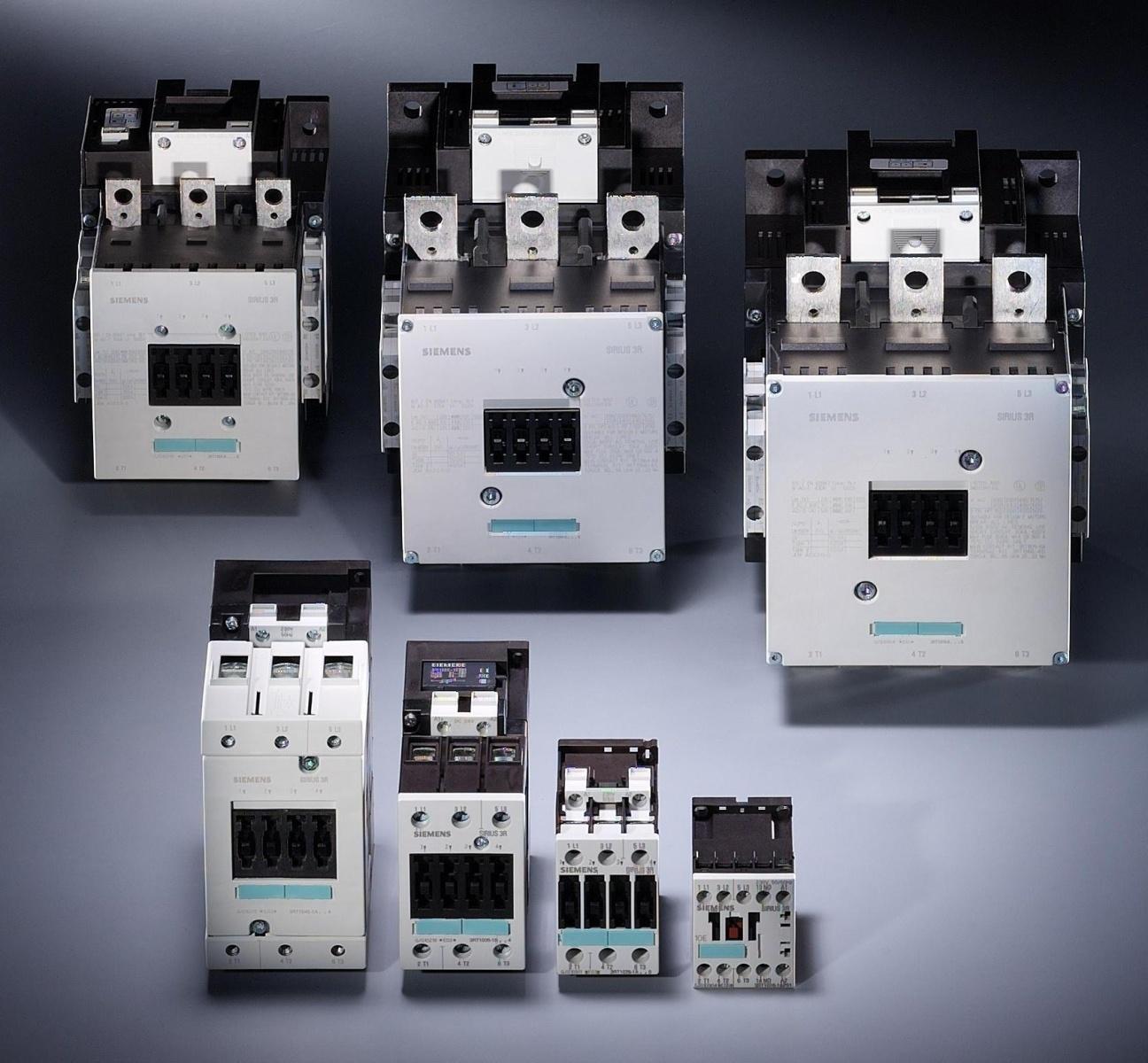 اجزاء من دارات التحكم (الكونتاكتورات ضواغط تشغيل وايقاف ريليات ولوحات) 806351236