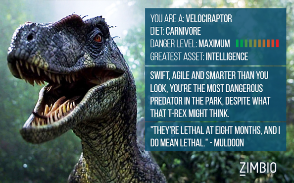 Which 'Jurassic World' Dinosaur Are You? 3u9VoZoKp2Zl