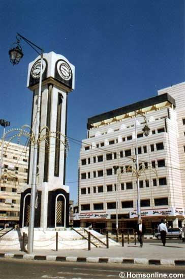 مشاهد من مدينة حمص في سوريا  135124080