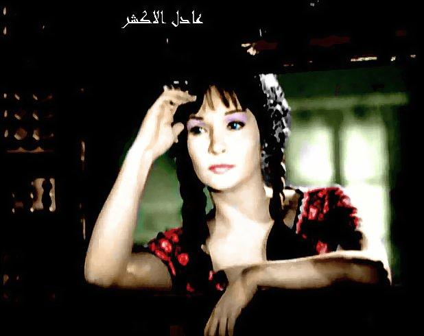 صور الفنانة شادية زمااااااااااان بالوان عادل الاكشر  329576051