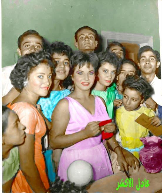 صور الفنانة شادية زمااااااااااان بالوان عادل الاكشر  - صفحة 6 743343395