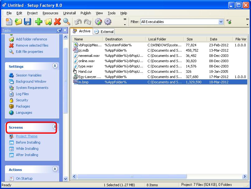 كيفية تحزيم برنامج بأستخدام برنامج Setup Factory مع شرح وضع سيريال نمر لبرنامجك ؟ 167444517