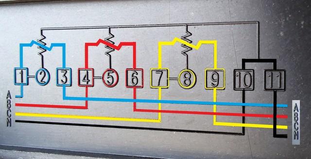 مخطط للعداد الكهربائي  914448802