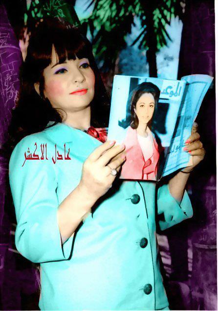 صور الفنانة شادية زمااااااااااان بالوان عادل الاكشر  - صفحة 2 334090993