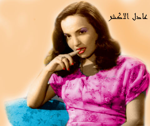 صور الفنانة شادية زمااااااااااان بالوان عادل الاكشر  - صفحة 2 714809440
