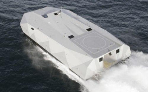 اختبار جديد لشبح البحار الامريكي M80 Stiletto 593940146