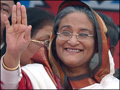 Sheikh Hasina Wajed - Bangladesh premier Image2350531g