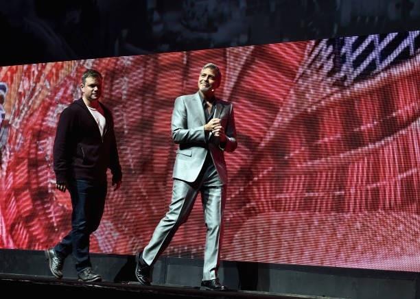 George Clooney at CinemaCon presenting Suburbicon 693f7a02gy1fe4163ils6j20h00c4ta8