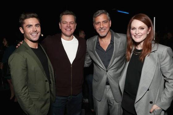 George Clooney at CinemaCon presenting Suburbicon 693f7a02gy1fe41ddnirej20fk0adaao
