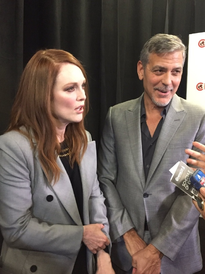 George Clooney at CinemaCon presenting Suburbicon 693f7a02ly1fe3g1tnt2dj20qo0zkdlu