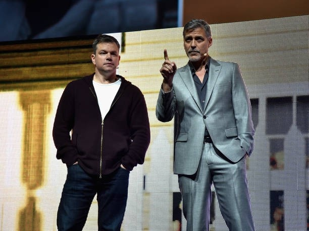 George Clooney at CinemaCon presenting Suburbicon 693f7a02gy1fe415ziie9j20h00cqjt5