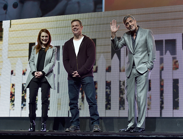 George Clooney at CinemaCon presenting Suburbicon 697b3ffbly1fe3jn34t99j20gi0chted