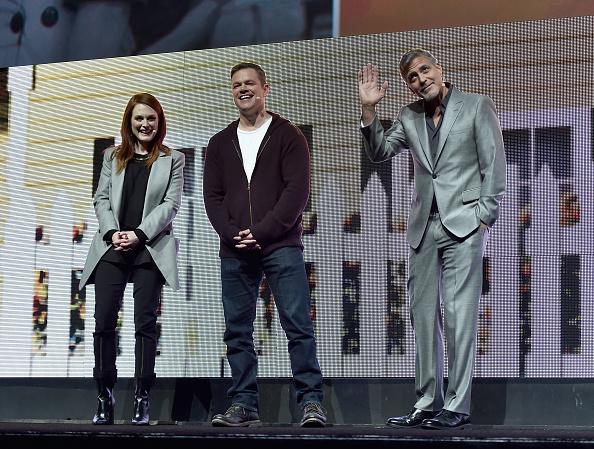 George Clooney at CinemaCon presenting Suburbicon 697b3ffbly1fe3jn34t99j20gi0chted