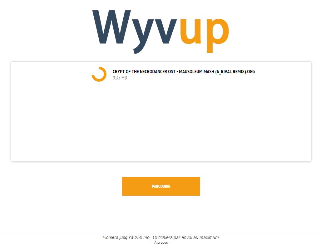 Wyvup (anciennement SimpleUpload) Presa1