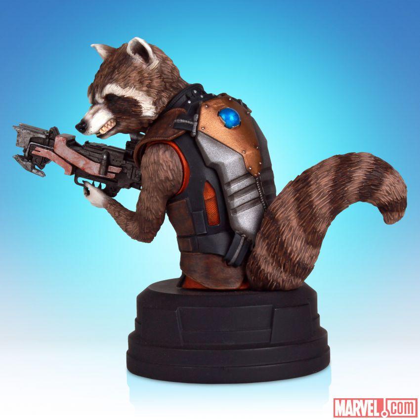 [Gentle Giant] SDCC 2014 Exclusive: Rocket Raccoon Movie Mini Bust 53bafb9194026