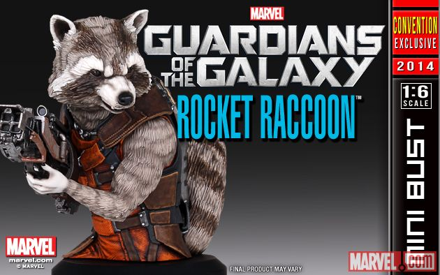 [Gentle Giant] SDCC 2014 Exclusive: Rocket Raccoon Movie Mini Bust 53bafd0852a52