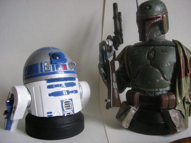 Sculpture - Jabba mini-bust Rendu12
