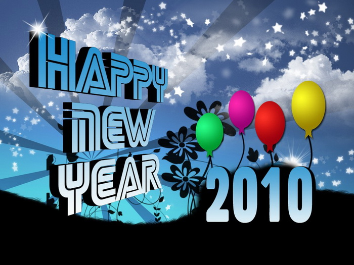 Happy birthday The wind and happy new year! New-year21