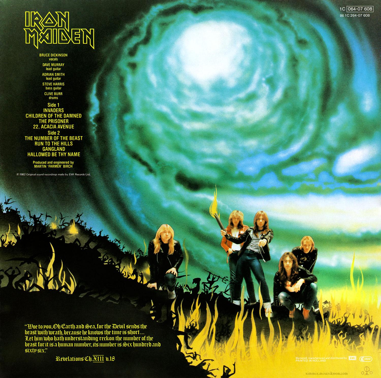 """33 χρόνια πριν οι MAIDEN με το θηρίο τους, κατακτούν το metal! Επέτειος για το """"The Number Of The Beast!"""" Iron_maiden_the_number_of_the_beast_back_1500x1486px_100414083125_2"""