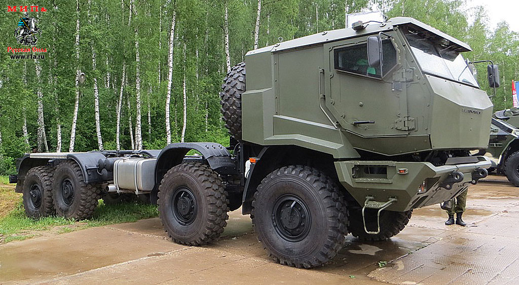 The Russian Military Automotive Fleet - Page 2 Kamaz6560m-1